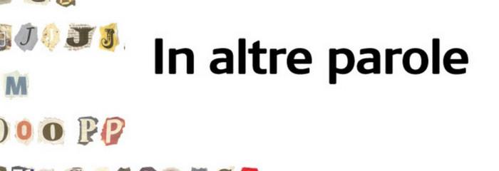 RSI – Rete due – Radiotelevisione svizzera – In altre parole by Massimo Zenari with Francesco Morace